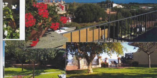 Orbetello Località Terrarossa villetta di recente costruzione