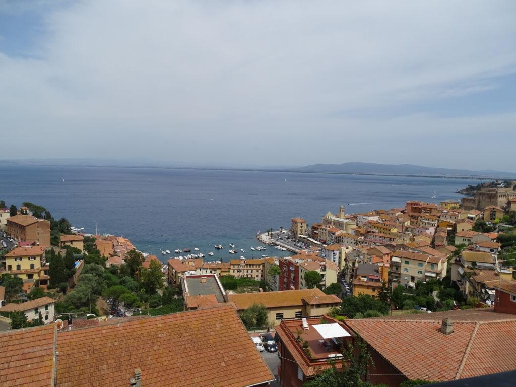 Porto S. Stefano, Strada del Sole Appartamento con terrazzo vista mare