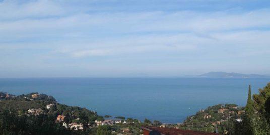 Porto S. Stefano Pianone Alto villino con giardino e terrazzo panoramico