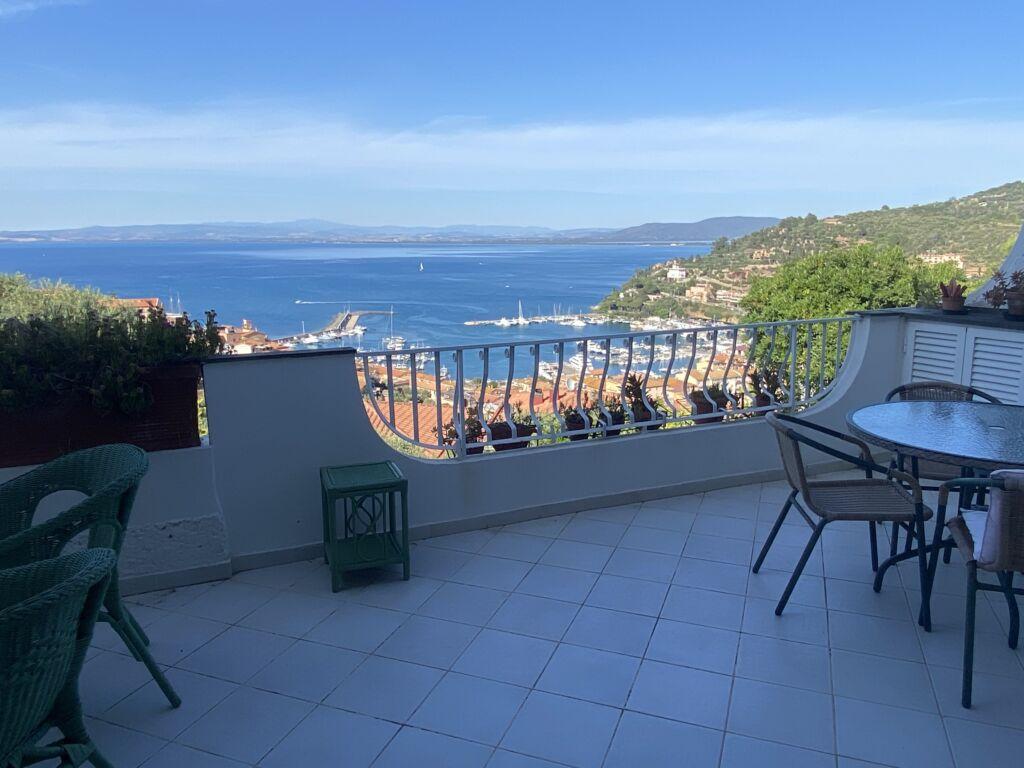 Porto S. Stefano, Residence Le Rampe bellissimo appartamento con vista mare